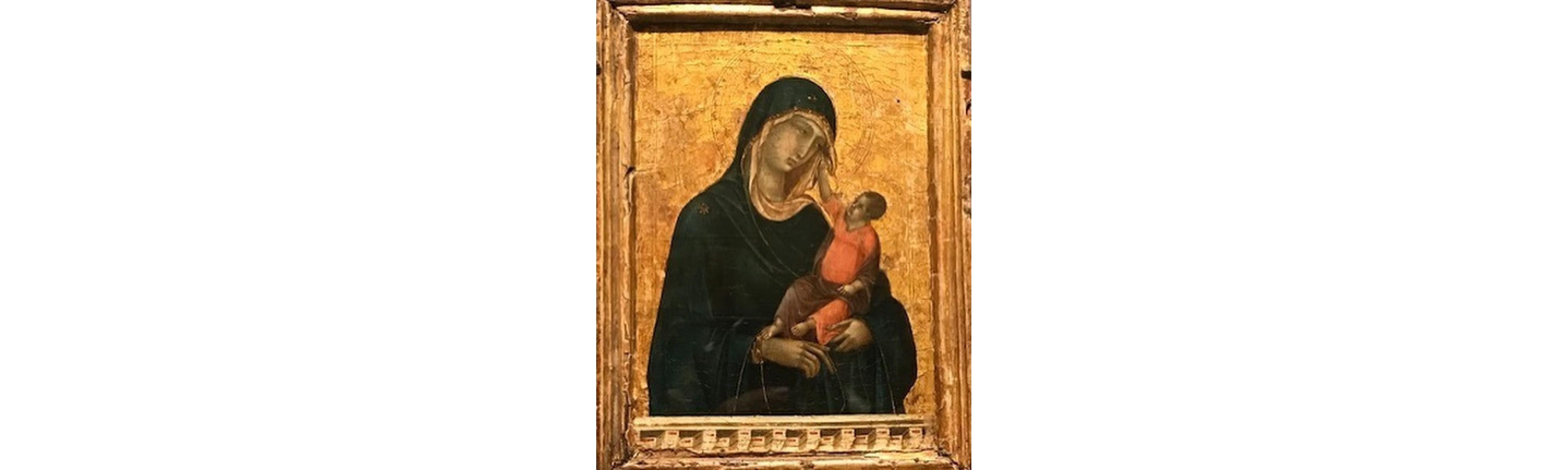 The Duccio Madonna & Child