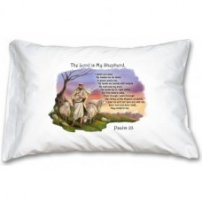 Prayer Pillowcase - Good Shepherd/23rd Psalm