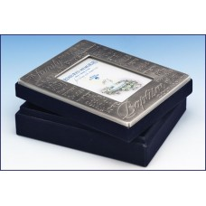 PEWTER BAPTISMAL MEMORY BOX