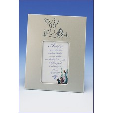 2x3 GUARDIAN ANGEL SILVER PHOTO FRAME