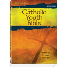 The Catholic Youth Bible NRSV: Catholic Edition. Green leatherette