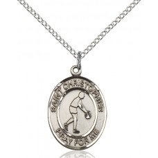 St. Christopher Basketball Medal