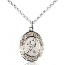 St. Christopher Soccer Medal