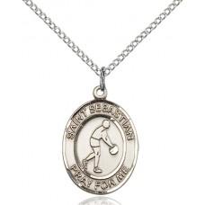 St. Sebastian Basketball Medal