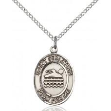 St. Sebastian Swimmingl Medal