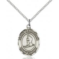 St. Sebastian Skiing Medal
