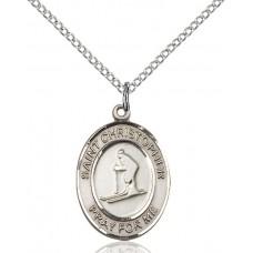 St. Christopher Skiing Medal
