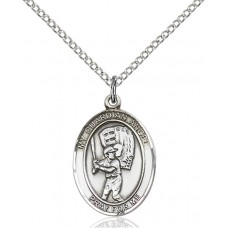 Guardian Angel Baseball Medal