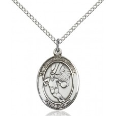 Guardian Angel Basketball Medal