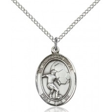 Guardian Angel Soccer Medal