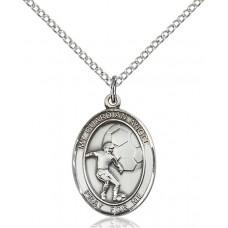 Guardian Angel Soccer Medal