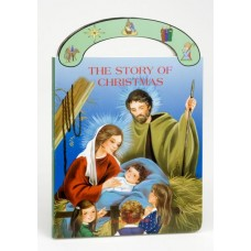 "THE STORY OF CHRISTMAS ST. JOSEPH ""CARRY-ME-ALONG"" BOARD BOOK"