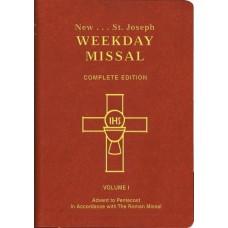 ST. JOSEPH WEEKDAY MISSAL (Vol. I/Advent to Pentecost)