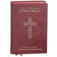ST. JOSEPH SUNDAY MISSAL CANADIAN EDITION