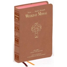 ST. JOSEPH WEEKDAY MISSAL LARGE TYPE VOLUME I