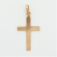 10K Gold Small Flat Cross