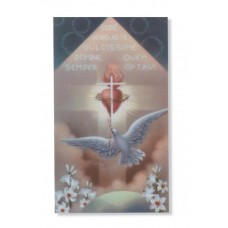 HOLY SPIRIT PIN/PRAYER CARD