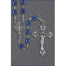 6x8mm SAPPHIRE ROMAGNA ROSARY