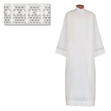 Latin Cross Lace Alb (Polyester/Wool)