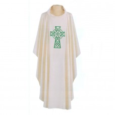 Celtic Cross Chasuble (Polyester)