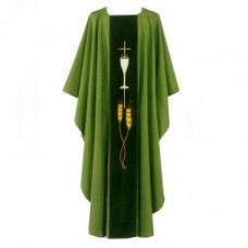 Chalice & Wheat Chasuble (Polyester)