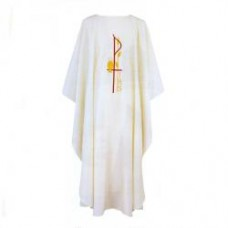 Chi Rho Chasuble (Polyester)