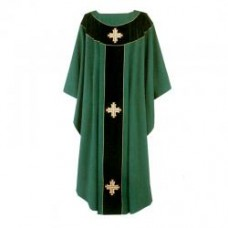 Crosses Chasuble (Polyester)