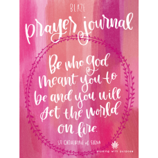 Walking With purpose Blaze Prayer Journal